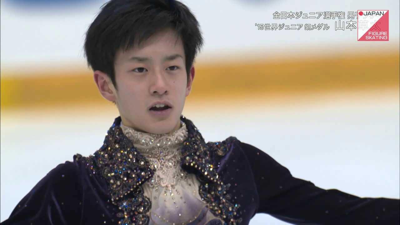 山本草太 2015全日本ジュニアFS