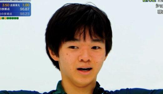 鍵山優真 2020全日本選手権 フリー演技