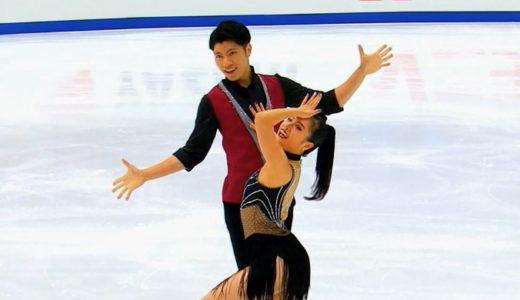 平山姫里有&立野在 2020全日本選手権 リズムダンス演技