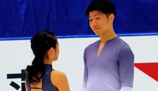 平山姫里有&立野在 2020全日本選手権 フリーダンス演技