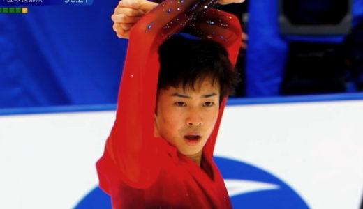 島田高志郎 2020全日本選手権 ショート演技