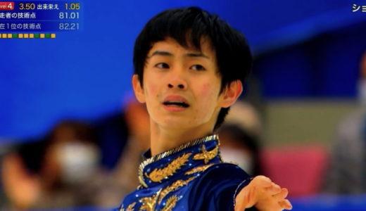 島田高志郎 2020全日本選手権 フリー演技