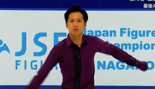 本田太一 2020全日本選手権 ショート演技