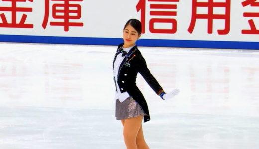 横井ゆは菜 2020全日本選手権 フリー演技