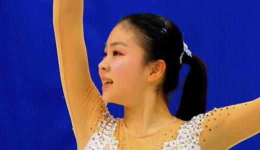 吉岡詩果 2020年全日本選手権 ショート演技